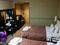 御殿場高原ホテル ツインルーム 窓側から撮影