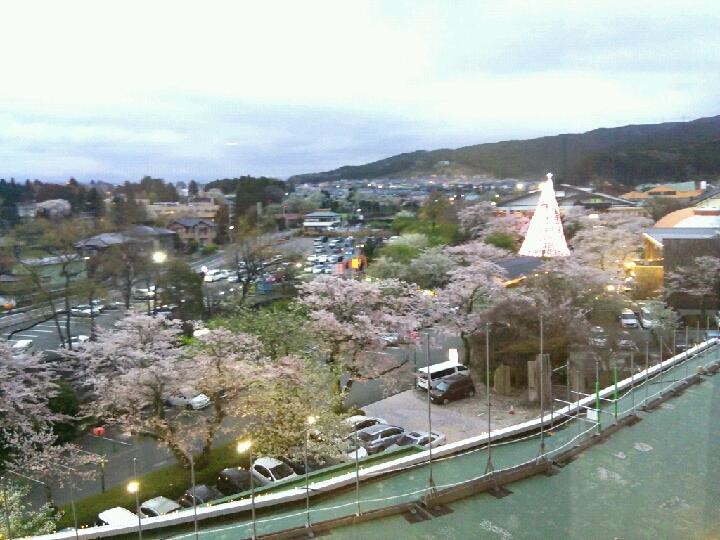 御殿場高原ホテル ツインルーム5階からの眺望