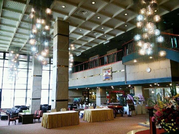 ロビー内部 御殿場高原ホテル