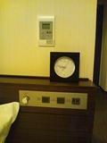 アナログの目覚まし時計