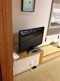 テレビも大きい