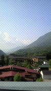 穂高荘山がの湯 眺望