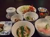 夕食(食堂で食べます)