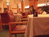 夕食は6階のレストランで