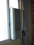 エアコンは旧式