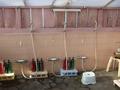 屋上大浴場の洗い場