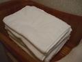 タオルは2種類