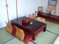 和洋室の和室です