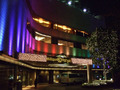 ホテルもライトアップ!