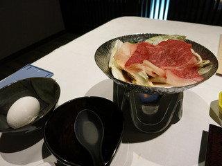 夕食の鍋物