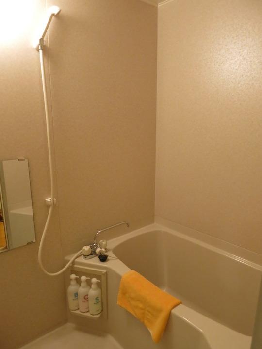 部屋のお風呂は