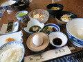朝食は純和食で