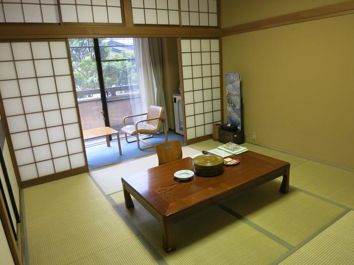 客室は純和室です。