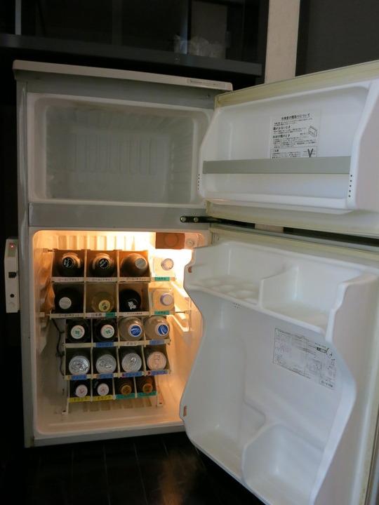 冷凍庫付き!