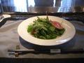 恵比寿ハンバーグランチセットのグリーンサラダ