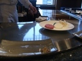 鉄板焼「恵比寿」 生ハンバーグがきました