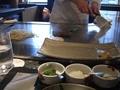 恵比寿ハンバーグ焼いてます!  鉄板焼「恵比寿」