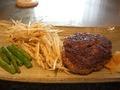 恵比寿ハンバーグと野菜