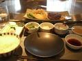 恵比寿ハンバーグランチセット 鉄板焼「恵比寿」