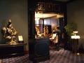 2階の中国料理「龍天門」前