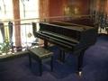 高級ホテルに必ずあるピアノ