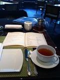 紅茶をekki BAR & GRILLのアフタヌーンで