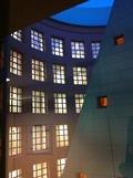 ホテルの構造は円柱に