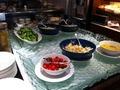 ブッフェのサラダコーナー カフェ・レストランのル・カフェ