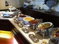 ブランチブッフェの主菜 「カフェ コルベーユ」