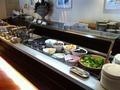 サラダコーナー 「カフェ コルベーユ」のブランチブッフェ