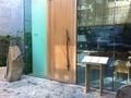 寿司六緑の店前(出入り口)