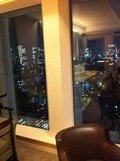 部屋からの夜景です
