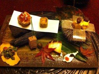 箱根吟遊 夕食の焼八寸