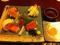 夕食 海の恵「旬の鮮魚と本鮪」
