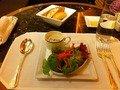 ペニンシュラ パスタランチのサラダ