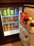 冷蔵庫の常備飲料