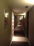 メルキュールホテル銀座東京の廊下