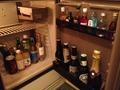 冷蔵庫内の飲み物各種