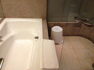 浴槽とシャワールーム