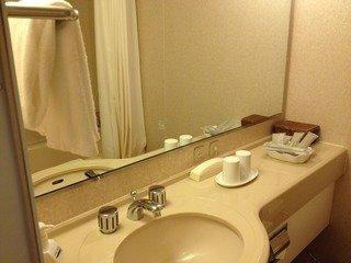 ホテルの洗面台