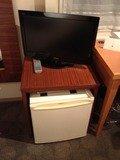 テレビと冷蔵庫です