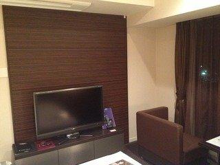 お部屋のテレビ