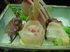 濤亭 夕食(刺身盛り)