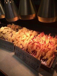 天ぷら、寿司、ブリしゃぶも