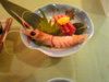 光山荘夕食1日目1