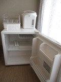部屋・冷蔵庫