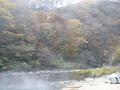 川の温泉2