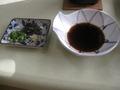 湯豆腐の付けだれ&薬味