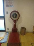 懐かしい体重計