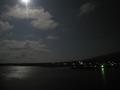 月明かりと湖